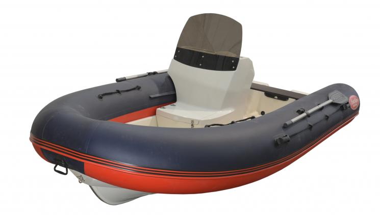 Лодка РИБ FORTIS 430 с консолью купить недорого с доставкой - Краснодар